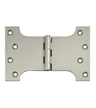 4 x 6 Solid Brass Parliament Hinge, Pair, Deltana DSPA4060