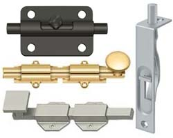 Deltana Door Bolts and Security Door Guards