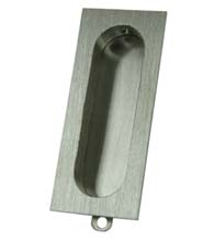 Rectangle Flush Door Pull, Deltana FP222
