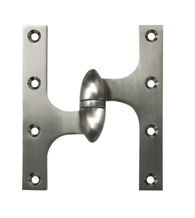 6 Inch x 5 Inch Olive Knuckle Hinge, Deltana OK6050B
