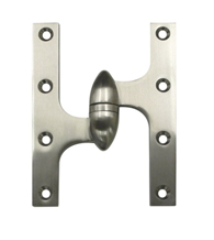 6 Inch x 4-1/2 Inch Olive Knuckle Hinge, Deltana OK6045B