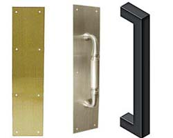 Deltana Push Plates And Door Pulls