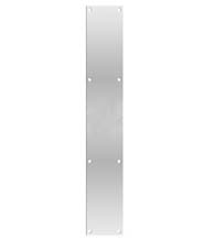 Stainless Steel Push Plate 3.5 Inch x 20 Inch, Deltana PP3520U32D