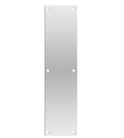 4 x 16 stainless steel push plate for Door push plates