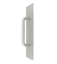 4 x 16 Stainless Steel Door Pull Plate