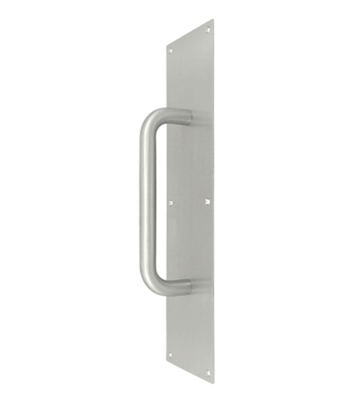 4 x 16 stainless steel door pull plate for Door push plates