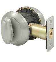 Grade 2 Port Royal Single Cylinder Deadbolt, Deltana PRDRS