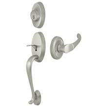 Riversdale Handleset with Chapelton Lever, Deltana PRRHCH
