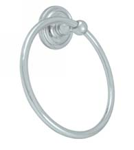 Classic Solid Brass Towel Ring, Deltana R2008