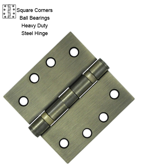 4 Inch Ball Bearing Hinge Heavy Duty