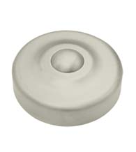 Solid Brass Decorative Screw Cover, Deltana SCD100