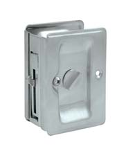 Heavy Duty Privacy Pocket Door Lock, Deltana SDLA325