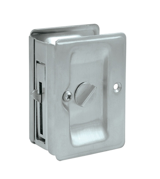 Heavy Duty Privacy Pocket Door Lock Deltana Sdla325
