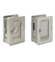 Double Pocket Door Privacy Lock Set, Deltana SDLA/SDAR