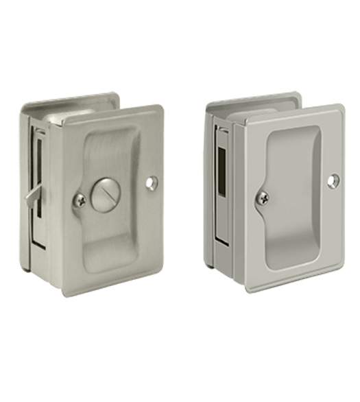 Double Pocket Door Privacy Lock Set Deltana Sdla Sdar