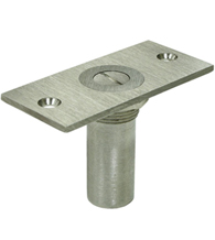 Dust Proof Solid Brass Door Bolt Strike with Safety Lock SPDP35S