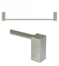 18 Inch Modern Value Towel Bar, Deltana ZA2002/18
