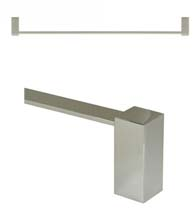30 Inch Modern Value Towel Bar, Deltana ZA2004/30