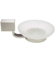 Wall Mounted Modern Glass Soap Dish, Deltana ZA2012