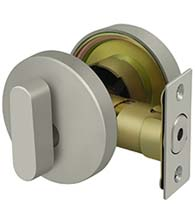 Low Profile Modern Deadbolt, Deltana ZDR