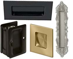 Deltana Pocket Door Hardware