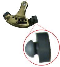 Rubber Replacement Tip For Hinge Pin Door Stop Deltana