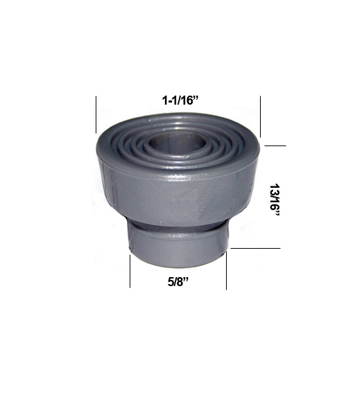 Charming Replacement Rubber Tip Don Jo 1458 Plunger Door Stop, Don Jo 1458