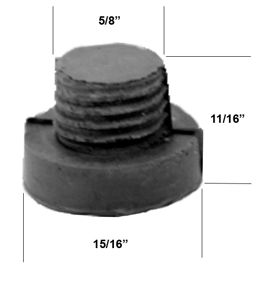 Amazing Replacement Rubber Tip For Kickdown Door Holder, Don Jo 1468