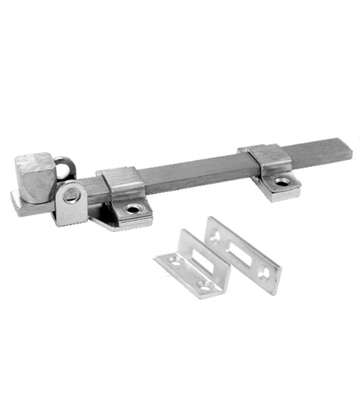 8 Inch Padlocking Slide Bolt Don-Jo 1582-626  sc 1 st  Doorware.com : door bolts - pezcame.com
