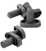 Wood Door Silencer Rubber, 5 Pack, Don-Jo 1609