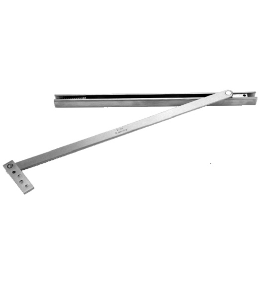 Wide Door Overhead Concealed Door Stop Don Jo 3024 630