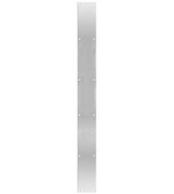 3.5 x 48 Long Satin Stainless Steel Push Plate, DJO-PP-3.5x48-630