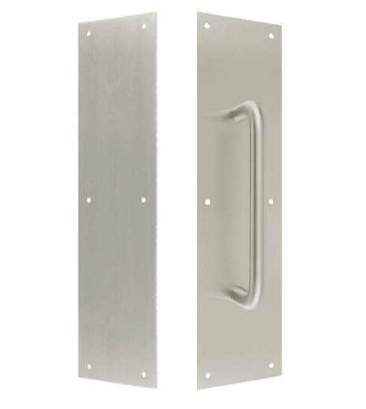 Aluminum Push and Pull Plate Set