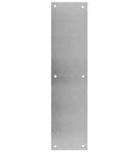 Economy Priced Aluminum 4 x 16 Push Plates, Don-Jo 71-628