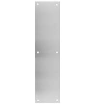Stainless Steel 4 x 16 Push Plate, Don-Jo 71-SS