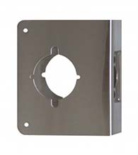4-3/4 x 5-1/2 Wrap Around Plate for Installing Marks Levers, Don-Jo 75-CW