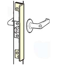 Outswinging Door 10 Inch Angle Plate Latch Guard, Don-Jo ALP-210