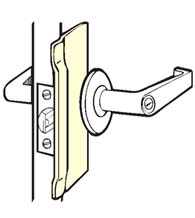 7 Inch Security Latch Guard Plate, Don-Jo BLP-207