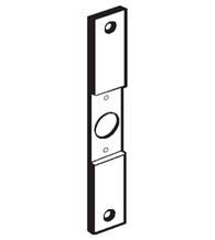 8 Inch Mortise Lock Conversion Plate with Centered Cut-Out, Don-Jo CV-86-C