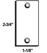 Don-Jo EF 161 Latch Filler Plate