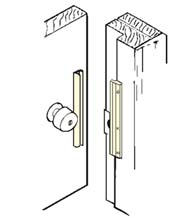 6 Inch Inswing Door Security Latch Guard, Don-Jo ILP-206