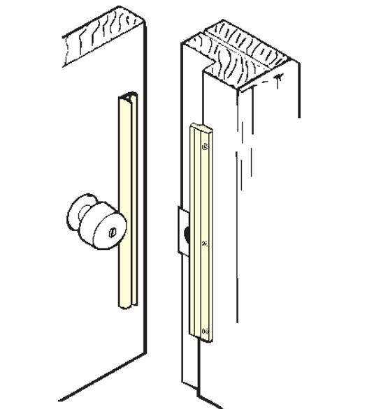 12 Inch Inswing Door Security Latch Guard Don Jo Ilp 212