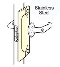 7 Inch Stainless Security Latch Guard Plate, Don-Jo LP-107-630