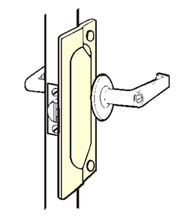 7 Inch Security Latch Guard Plate, Don-Jo LP-207
