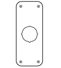 3-1/2 Inch x 9 Inch Remodeler Plate, Don-Jo RP-13509