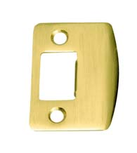 Replacement Radius Corner Strike Plate, Don-Jo ST-214-RC