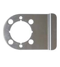 Commercial Door Lever Security Plate, Don-Jo WSLP-104-630