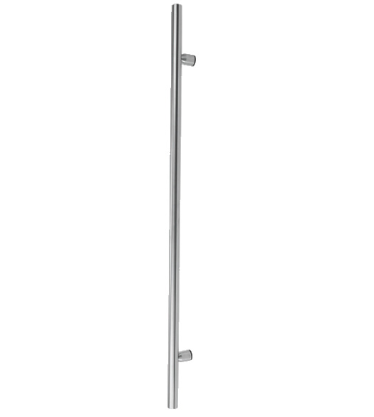 6 Foot Contemporary Stainless Steel Door Pull  sc 1 st  Doorware.com & 6 Foot Contemporary Stainless Steel Door Pull - Doorware.com