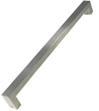 36 Inch Rectangular Satin Stainless Steel Pull