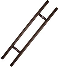 48 Inch Oil Rubbed Bronze Ladder Pull, DWD-HPULL48-613